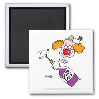 Imã Desenhos animados engraçados do palhaço do humor