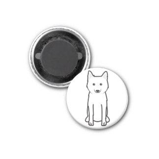 Imã Desenhos animados Karelo-Finlandeses do cão de