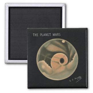 Imã Desenhos de Trouvelot - o planeta Marte