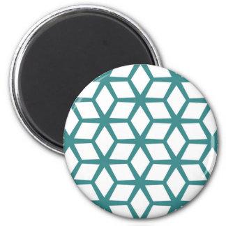 Imã Design abstrato do cubo