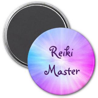 Imã Design claro roxo do mestre de Reiki
