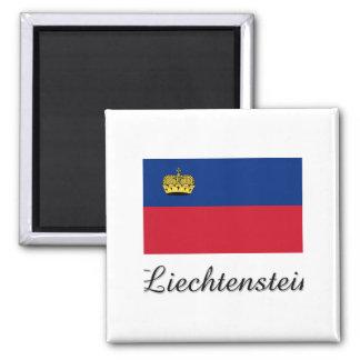 Imã Design da bandeira de Liechtenstein