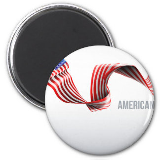 Imã Design da fita da bandeira americana