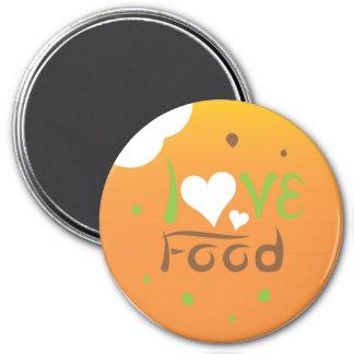 Imã Design do ímã da comida do amor