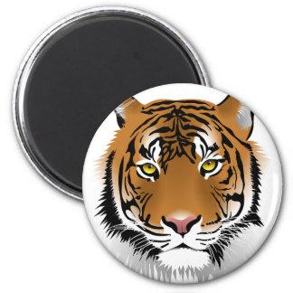 Imã Design do impressão da cabeça do tigre