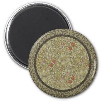 Imã Design floral do impressão da arte do salgueiro do