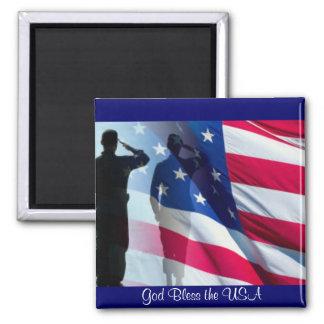 Imã Deus abençoe a bandeira americana dos EUA