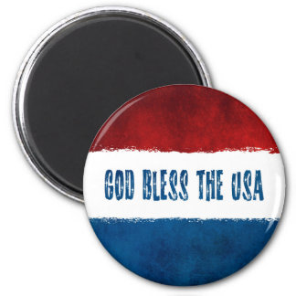 Imã Deus abençoe o ímã do Grunge dos EUA