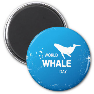 Imã Dia da baleia do mundo - dia da apreciação