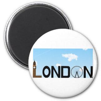 Imã Dia da skyline de Londres