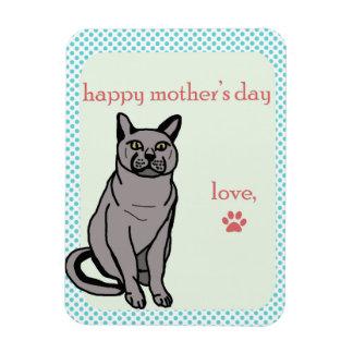 Ímã Dia das mães feliz | do gato