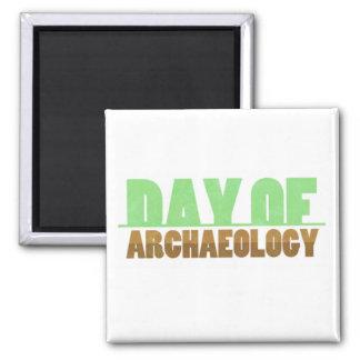 Imã Dia do ímã do quadrado da arqueologia