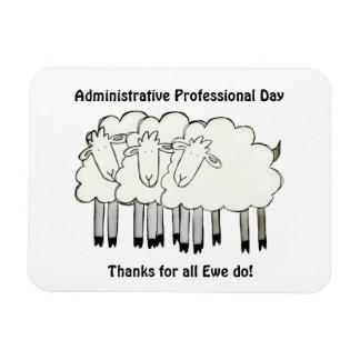 Ímã Dia profissional administrativo - obrigados