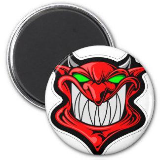 Imã Diabo dos desenhos animados