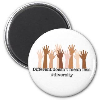 Imã Diferente não significa menos: Diversidade