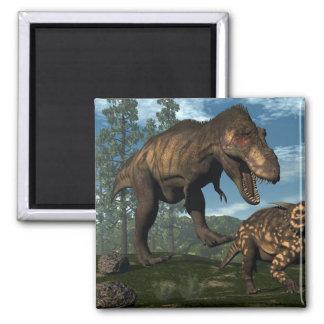 Imã Dinossauro de ataque do einiosaurus do rex do