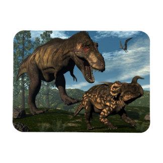 Ímã Dinossauro de ataque do einiosaurus do rex do