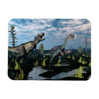 Ímã Dinossauro de ataque do gigantoraptor do rex do