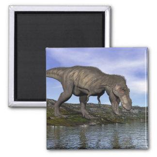 Imã Dinossauro do rex do tiranossauro - 3D rendem