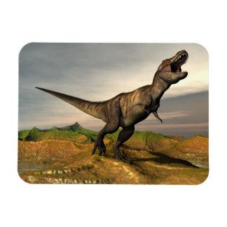 Ímã Dinossauro do rex do tiranossauro - 3D rendem