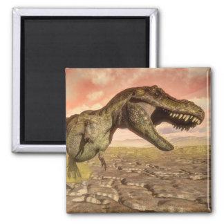 Imã Dinossauro do rex do tiranossauro que ruje