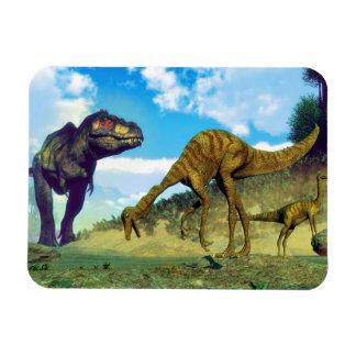 Ímã Dinossauros surprising do gallimimus do rex do