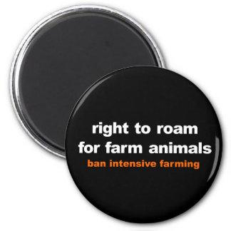 Imã Direito para vaguear para animais de fazenda