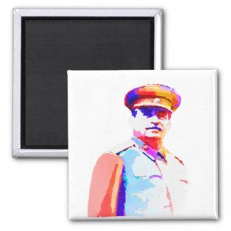 Imã Ditador Colorido de Josef Stalin WW2 Rússia do