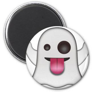 Imã Divertimento legal de Emoji do fantasma assustador