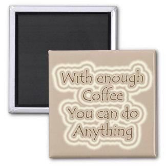 Ímã do café ímã quadrado