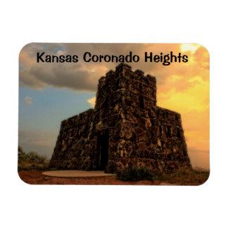 Ímã do castelo das alturas de Kansas Coronado
