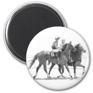 Ímã do cavalo e do jóquei imãs