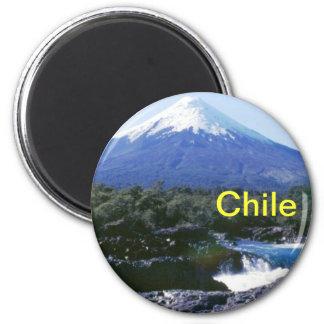 Ímã do Chile Ímã Redondo 5.08cm