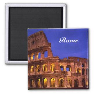 ímã do colosseum de Roma Ímã Quadrado