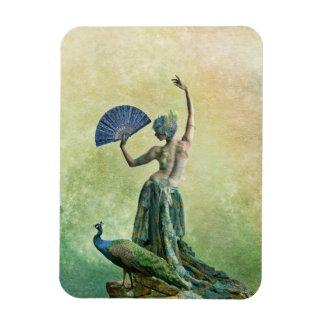 Ímã do dançarino do pavão