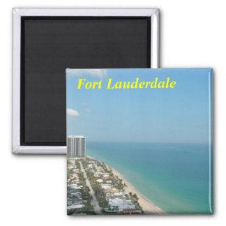 Ímã do Fort Lauderdale Ímã Quadrado