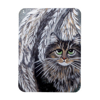 Ímã do gato de racum de Maine do anjo