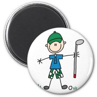 Ímã do golfe do esporte ímã redondo 5.08cm
