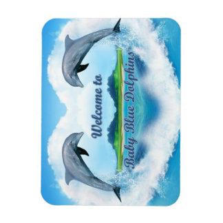 Ímã do golfinho dos azuis bebés