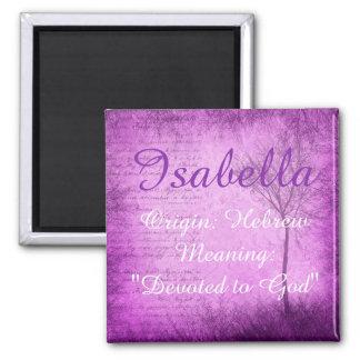 Imã Do ímã conhecido do significado de Isabella árvore