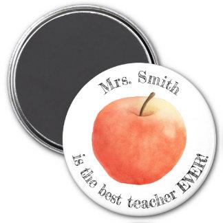 """Imã Do """"ímã customizável melhor professor nunca"""""""