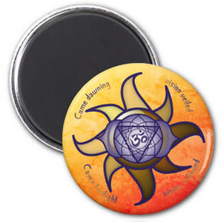"""Imã Do """"ímã de Lotus da introspecção da ioga terceiro"""