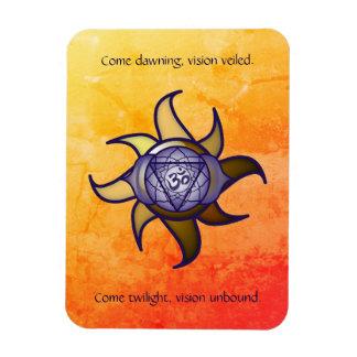 """Ímã Do """"ímã de Lotus da introspecção da ioga terceiro"""