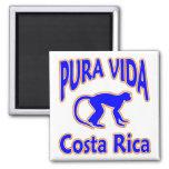 Ímã do macaco de Pura Vida Costa Rica Imas