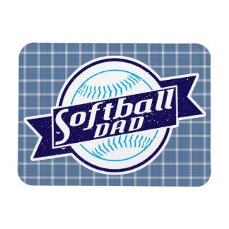 Ímã do pai do softball