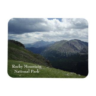 Ímã do parque nacional de montanha rochosa