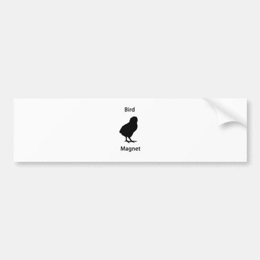 ímã do pássaro adesivos