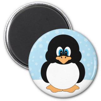 Ímã do pinguim do floco de neve imã