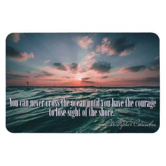 Ímã do por do sol das citações de Columbo