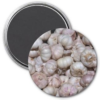 Ímã do refrigerador: Cravos-da-índia de alho Ímã Redondo 7.62cm